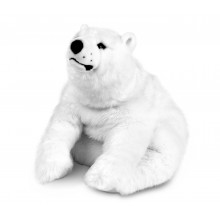 Peluche Ours Polaire Blanc