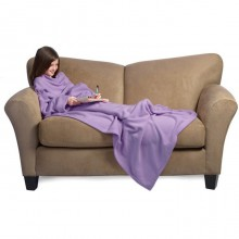 THE SLANKET KID purple - La couverture polaire pour enfant