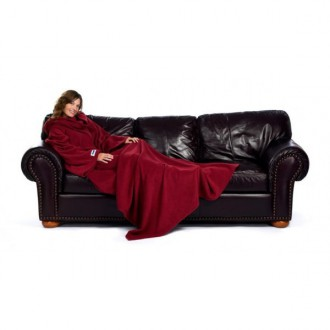 the slanket la couverture polaire rouge ruby 39 90 id e cadeau insolite cadeau femme. Black Bedroom Furniture Sets. Home Design Ideas