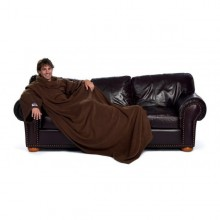 THE SLANKET - La couverture polaire chocolat