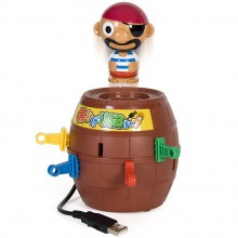 Pop-Up Pirate USB Hub faites sauter le pirate