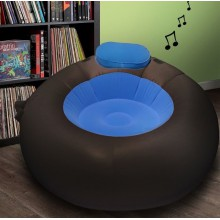 Pouf musical gonflable