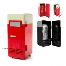 Frigo USB rouge