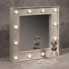 Miroir Hollywood 12 leds