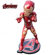 Figurine Iron Man Marvel âge of ultron à tête oscillante
